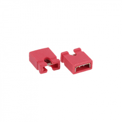 Red 2.54 mm Jumper (open top)