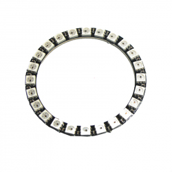 LED Ring with 24 Addressable WS2812 RGB LEDs