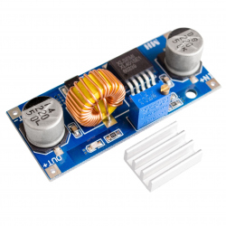 XL4015 5 A Adjustable Step Down DC-DC Module (4 - 38 V input)