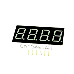 "0.36"" 4 Digit LED Display Common Anode"