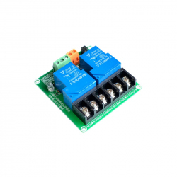 Dual 30 A Relay Module with 5 V Control Input