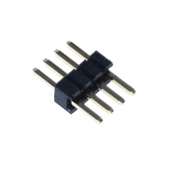 4p 1.27 mm Male Pin Header