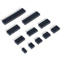 8p 1.27 mm Female Pin Header