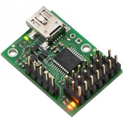 Controller Servo pe USB cu 6 Canale Micro Maestro (asamblat)