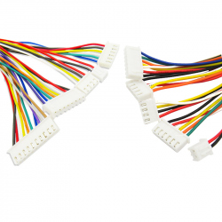 4p XH2.54 Colored Single Head Cable (20 cm)
