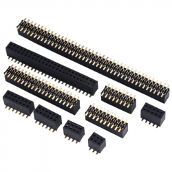 2 x 3p 1.27 mm SMD Female Pin Header