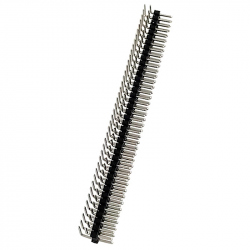 2 x 40p 2.54 mm 90° Male Pin Header