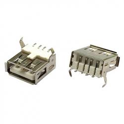 90° USB-A Female Connector