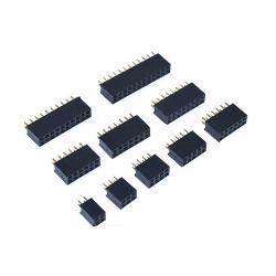 2 x 4p 2.54 mm Female Pin Header