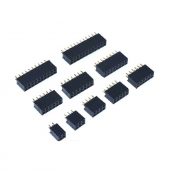 2 x 2p 2.54 mm Female Pin Header
