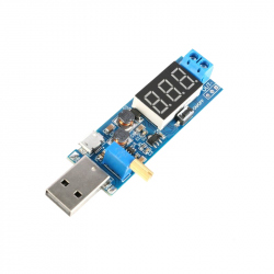 DC-DC Step-Up Power Supply Module with Display and USB Input