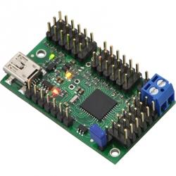 Controller Servo pe USB cu 18 Canale Mini Maestro (asamblat)