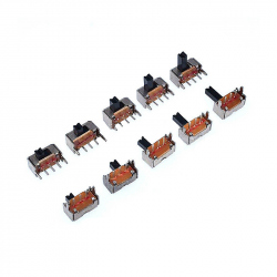 Miniature Side Toggle Switch with 3 mm Handle