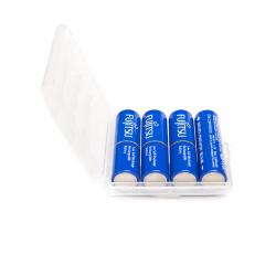 4 AA Fujitsu Blue in case - 1900mAh