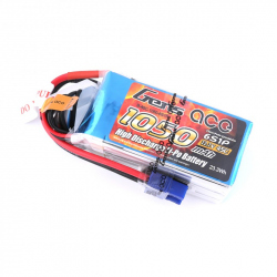 Gens ace 1050mAh 22.2V 45C 6S1P Lipo Battery Pack