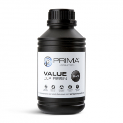 PrimaCreator Value UV / DLP Resin - 500 ml - Black