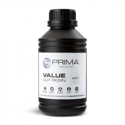 PrimaCreator Value UV / DLP Resin - 500 ml - White