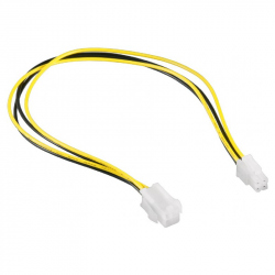 ATX 4-pin internal power supply extension cable, 0.3 m