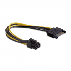 SATA power adapter cable for PCI express, 0.2 m