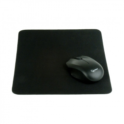 Black cloth mouse pad