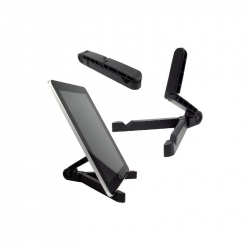 Universal tablet stand, black