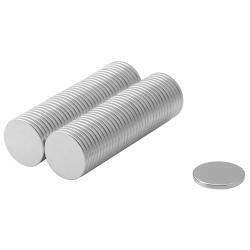 Neodymium Disc Magnet 15x1,5 Thick N38