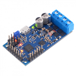 High-Power Simple Motor Controller G2 18v15 (Connectors Soldered)
