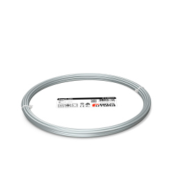 FormFutura EasyFil ABS Filament - Silver, 2.85 mm, 50 g