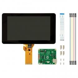 Display LCD cu Touchscreen de 7'' pentru Raspberry Pi (modelul oficial)
