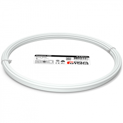 FormFutura Premium ABS Filament - Frosty White, 2.85 mm, 50 g