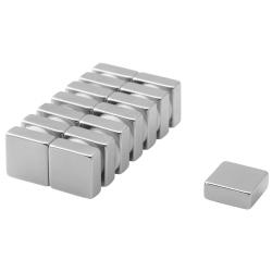 Neodymium Block Magnet 12,5x12,5x5 Thick N38
