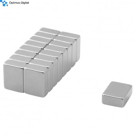 Neodymium block magnet 13x10x5 thick N38