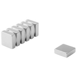 Neodymium block magnet 15x15x5 thick N38