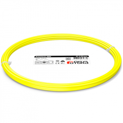 FormFutura Premium ABS Filament - Solar Yellow, 2.85 mm, 50 g