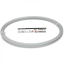 FormFutura Galaxy PLA Filament - Titanium Silver, 2.85 mm, 50 g