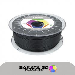 Sakata 3D HIPS - Black 1.75 mm 1 KG