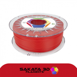Sakata 3D Ingeo 3D850 PLA Filament - Red 1.75 mm 500g