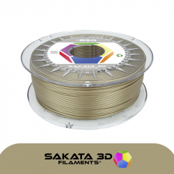 Sakata 3D Ingeo 3D850 PLA Filament - Gold 1.75 mm 500g