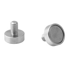 Pot Magnet with Threaded Stem 13x4.5xM5
