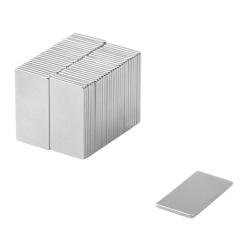 Neodymium Block Magnet 20x10x1 Thick N38
