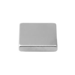 Neodymium Block Magnet 25x25x5 Thick N38