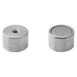 Pot magnet with internal thread 20x13xM5
