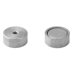 Pot magnet with internal thread 19x8xM4