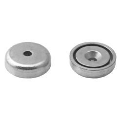 Pot Magnet 25x9/4.5x7 mm Countersunk Hole