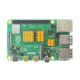 Aluminum Heatsink Set for Raspberry Pi 4 (Gold Color)