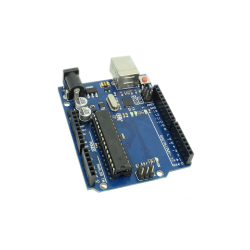 Development Board Compatible with Arduino UNO R3 (ATmega328p + ATmega16u2)