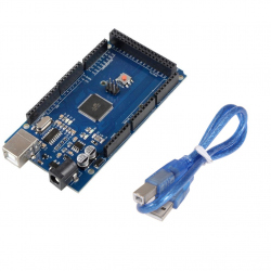 Development Board compatible with Arduino MEGA 2560 (ATmega2560 + CH340) with 50 cm Cable