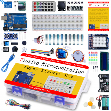 UNO R3 Super Starter Kit for Learning Arduino