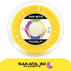 PLA Ingeo 3D870 Yellow 1.75 mm 1 kg