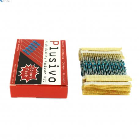 250 pcs Plusivo Resistor Kit